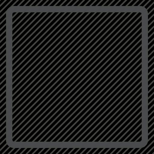 cube, line, record, square icon