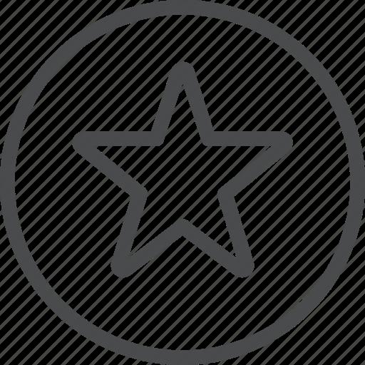 award, circle, favorite, rating, save, star icon