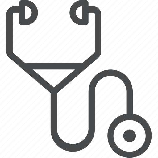 clinic, doctor, healthcare, hospital, medical, stethoscope, treatment icon
