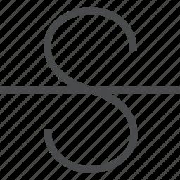 format, letter, strikethrough, style, text icon