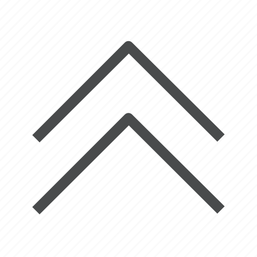 arrows, chevrons, page, up icon