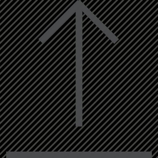 arrow, share, up, upload icon