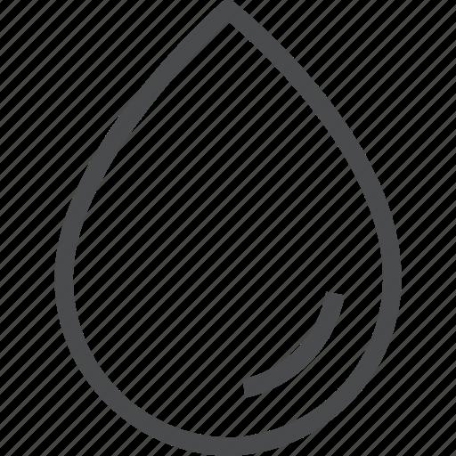 color, drop, rain, splash, water icon
