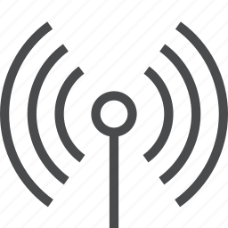 antenna, connection, network, radio, signal, wifi, wireless icon