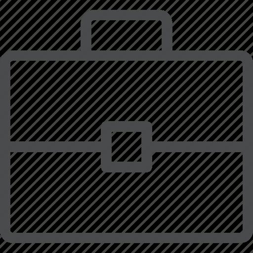 briefcase, business, employment, occupation, office, portfolio, work icon