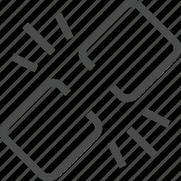 broken, link, missing icon
