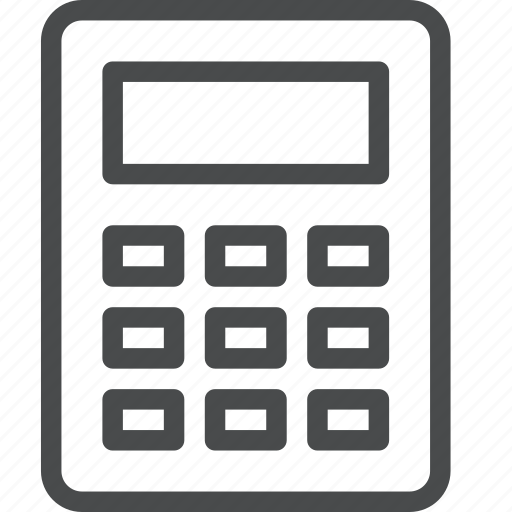 accounting, calculator, count, math icon