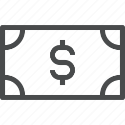 cash, money, payment icon