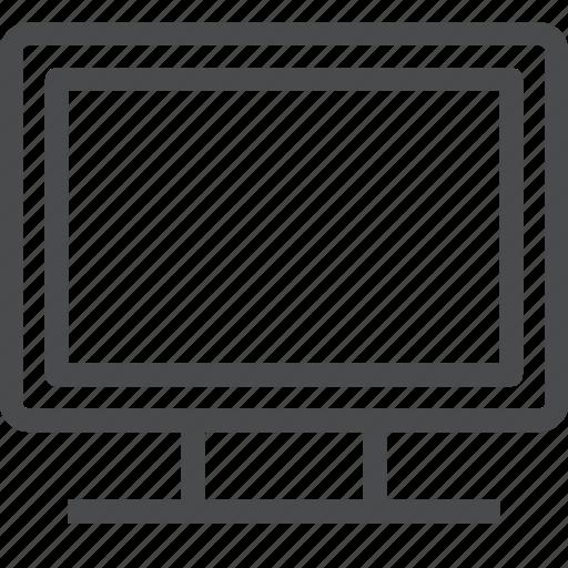 computer, display, tv icon