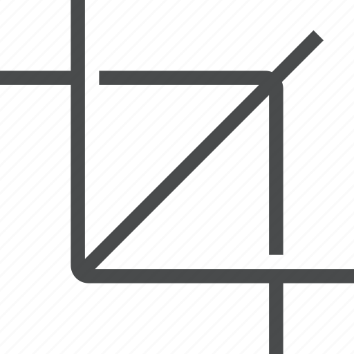 crop, resize, scale, size icon