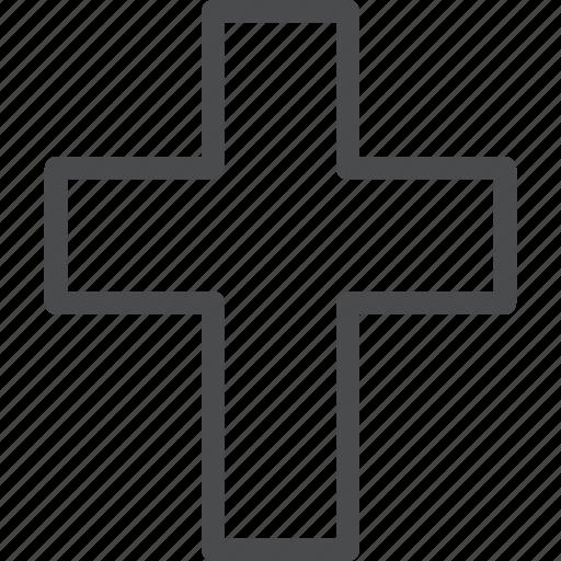 christianity, cross icon