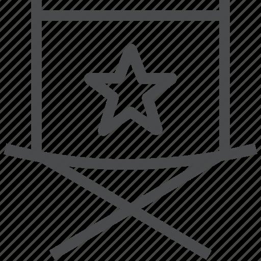 chair, directors, film, movie icon