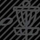 disc, golfing icon