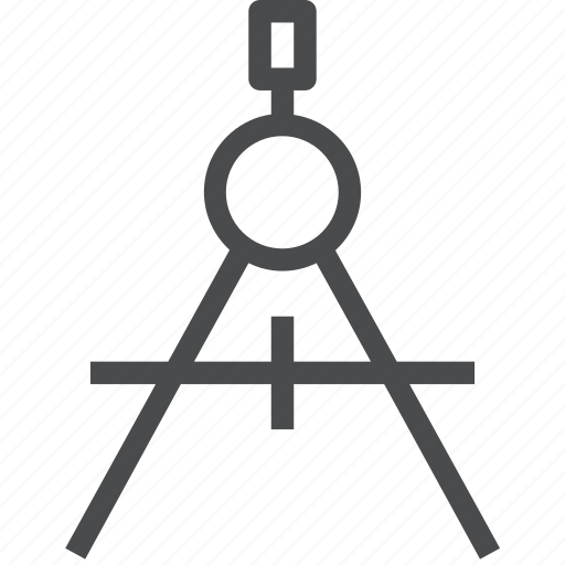 compass, drafting, drawing, geometry icon