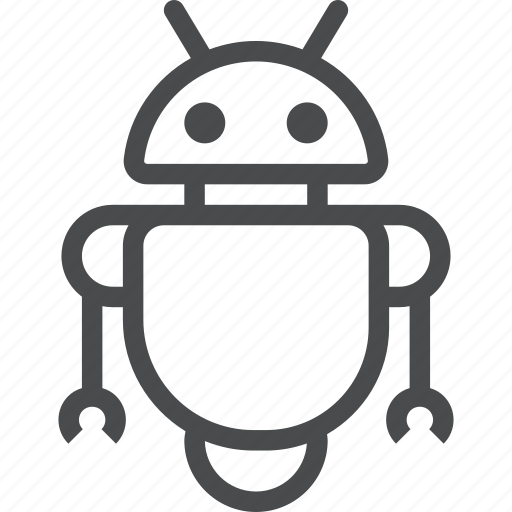 Assistant, droid, gadget, robot, robotics, technology icon