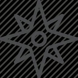 compass, direction, explore, gps, navigation, travel icon