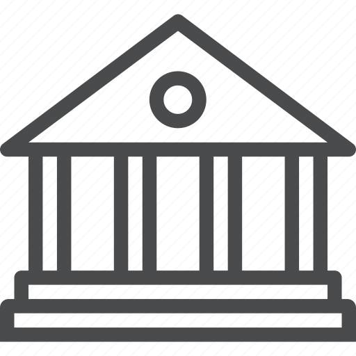 architecture, building, business, federal, government, library, official icon