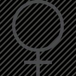 female, girl, symbol, woman icon