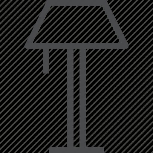 floor, furniture, household, lamp, light, lighting icon