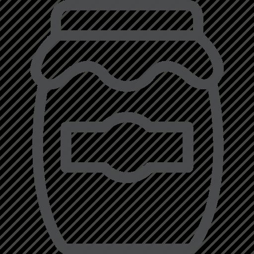 food, jar, jelly, kitchen icon