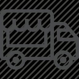eat, food, restaurant, truck icon