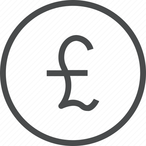 cash, coin, currency, gbp, money icon