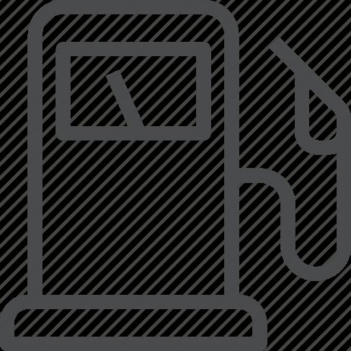 Gas, pump, fuel, gasoline, oil, petrol, travel icon - Download on Iconfinder