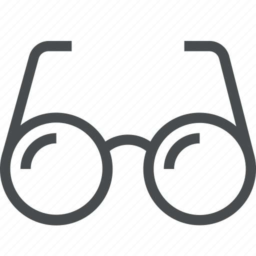 eyeglass, find, glasses, see, spectacles, view icon