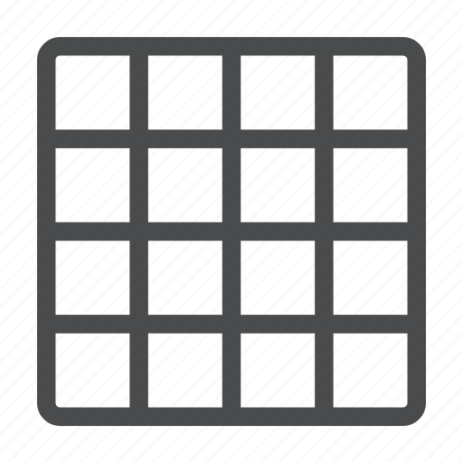 grid, layout, squares, template, wireframe icon