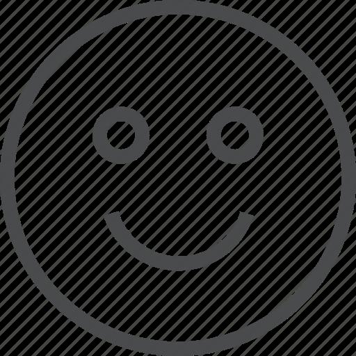 emoji, emoticons, face, happy, like, person, smile icon