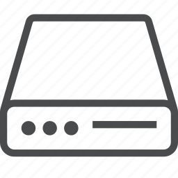 data, database, disk, drive, hard, storage icon