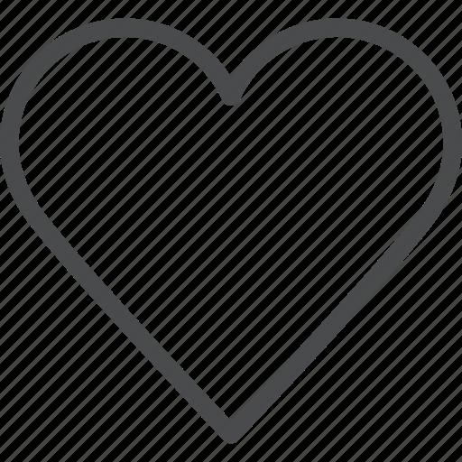 favorite, heart, like, love, romance, romantic, valentines icon