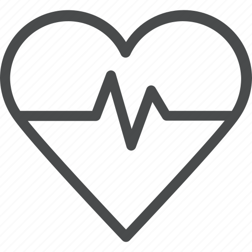 activity, health, heart, lifeline, medical, monitor icon