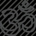 hinduism, meditation, om, yoga