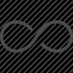 cycle, eternity, infinity, loop, repeat icon