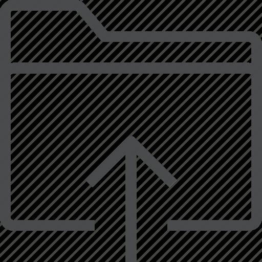 archive, folder, insert, storage icon