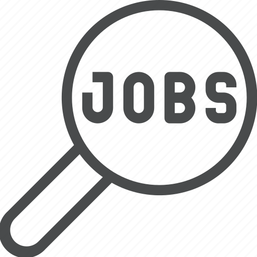 employment, find, job, search, work icon