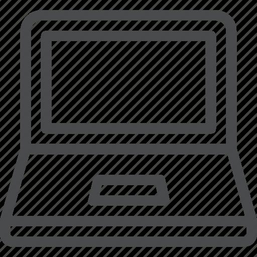 computer, device, laptop, pc, tech, technology icon