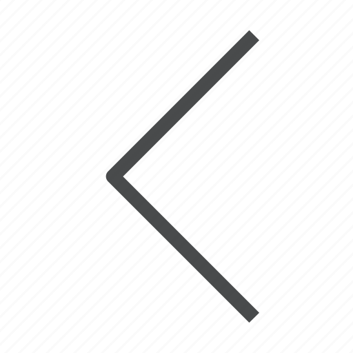 arrow, back, chevron, left, previous icon