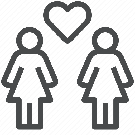gay, lesbian, lgbt, love, pride, romance, women icon