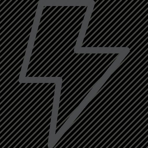 bolt, electricity, energy, lightning, power icon