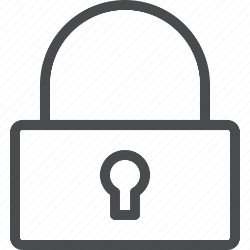 lock, locked, padlock, password, privacy, protection, secure icon