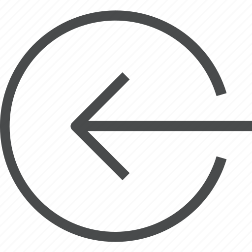 import, left, login, move, shift icon