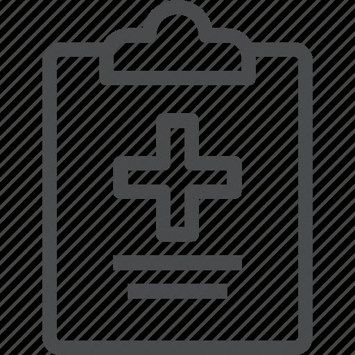 clipboard, health, healthcare, hospital, medical, medicine, treatment icon