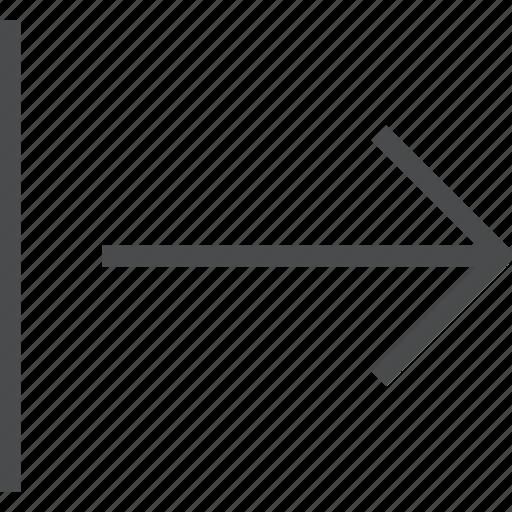 forward, move, next, right icon
