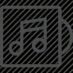 album, audio, music, sound icon