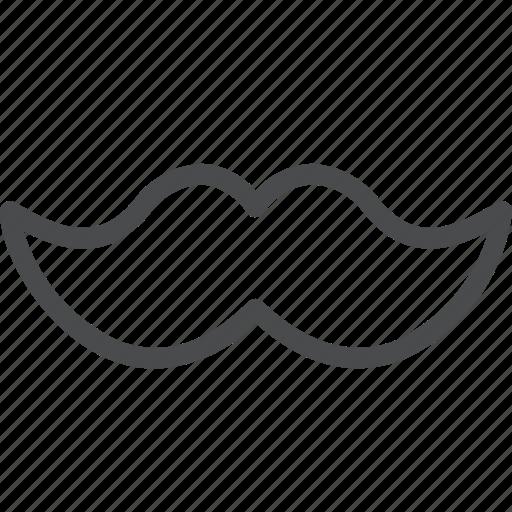 beard, facial hair, hipster, moustache, mustache icon