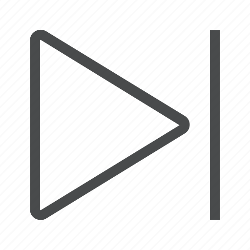 arrow, forward, next, right icon