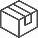 package, box, delivery, product, parcel, shipping icon
