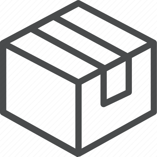 box, delivery, package, parcel, product, shipping icon